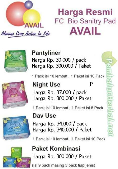 Harga-pembalutherbal-avail